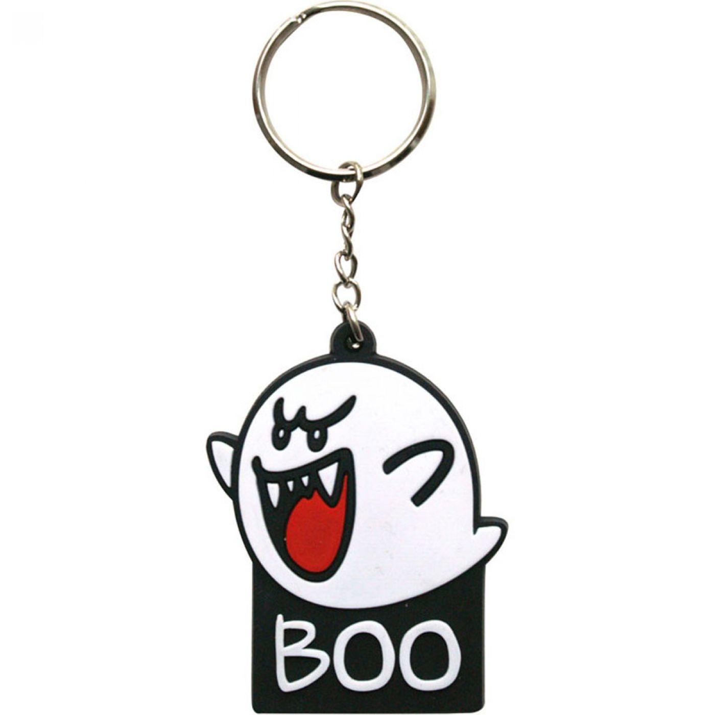 Nintendo Super Mario Bros Boo keychain