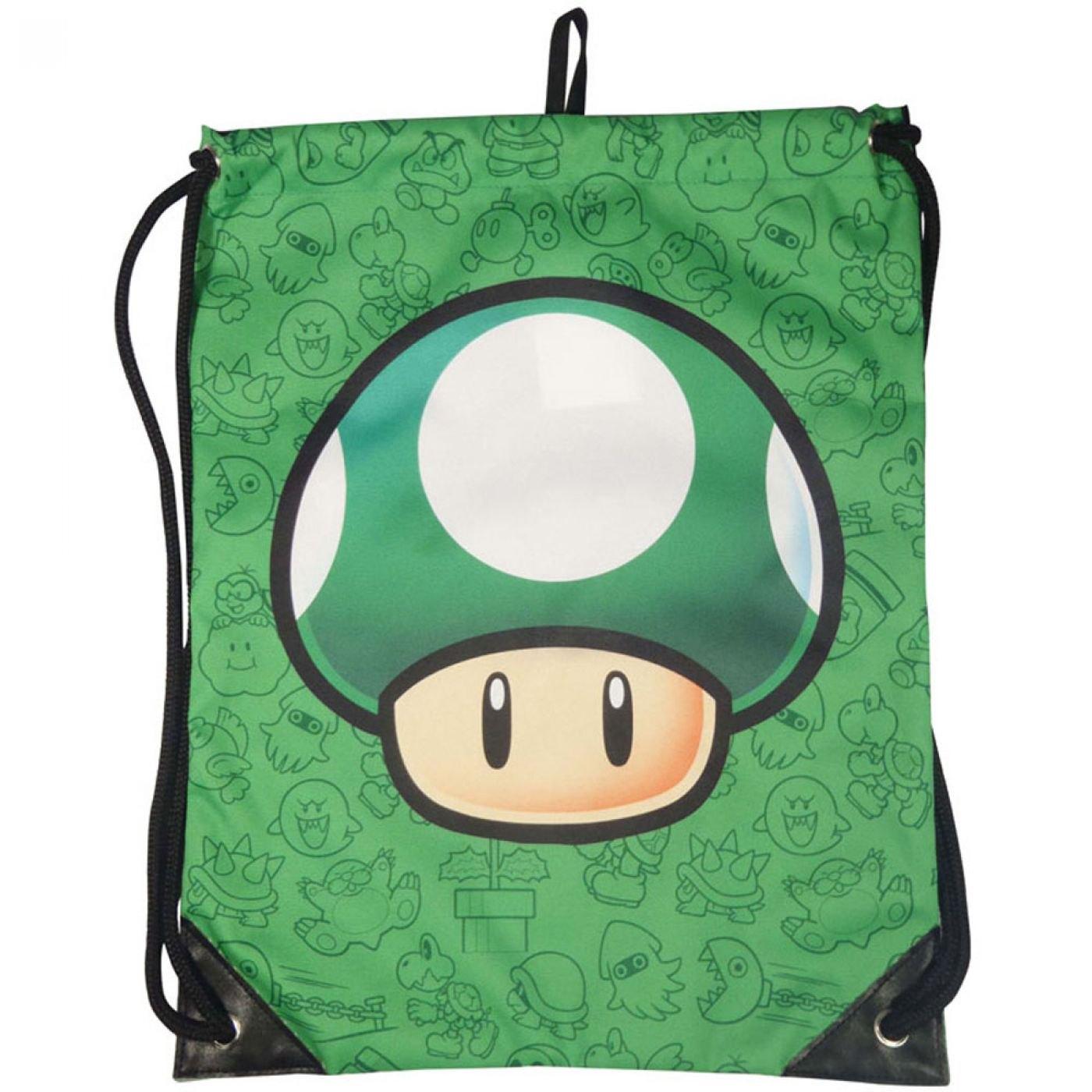 Nintendo Super Mario Bros gym bag - 1UP Mushroom bag