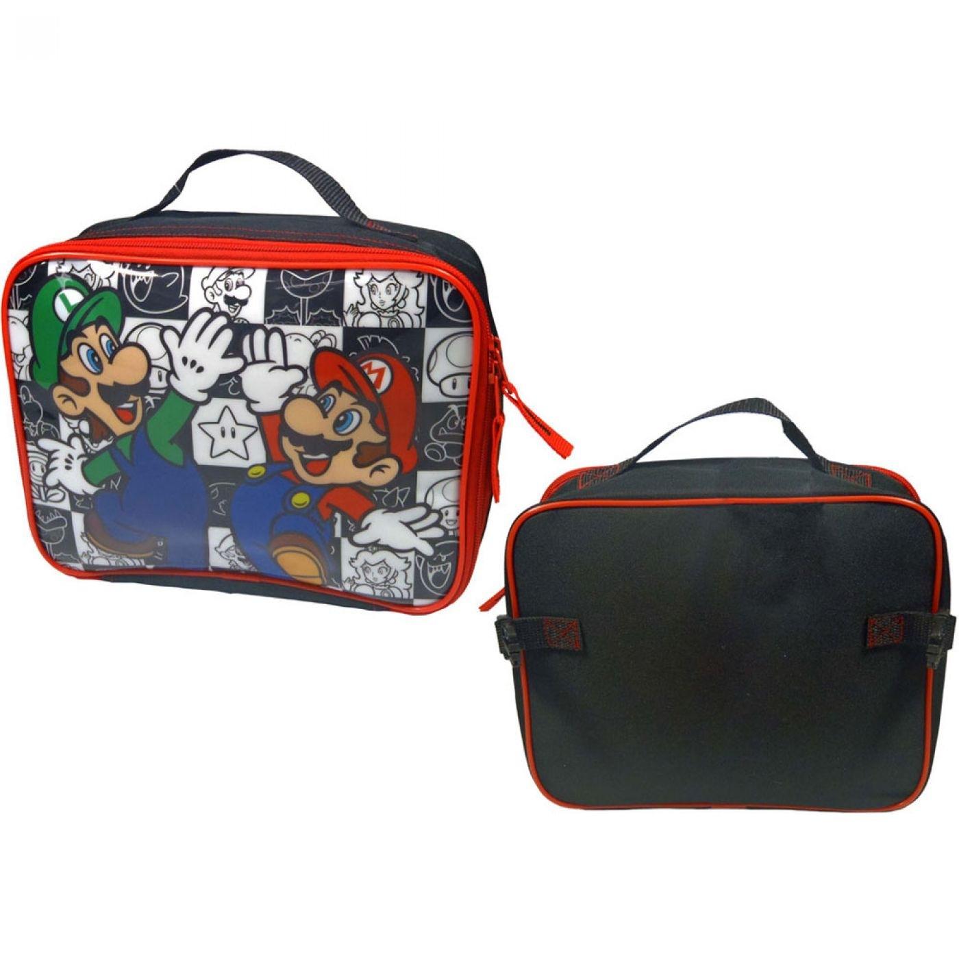 Nintendo Super Mario Bros lunch bag - Mario/Luigi bag