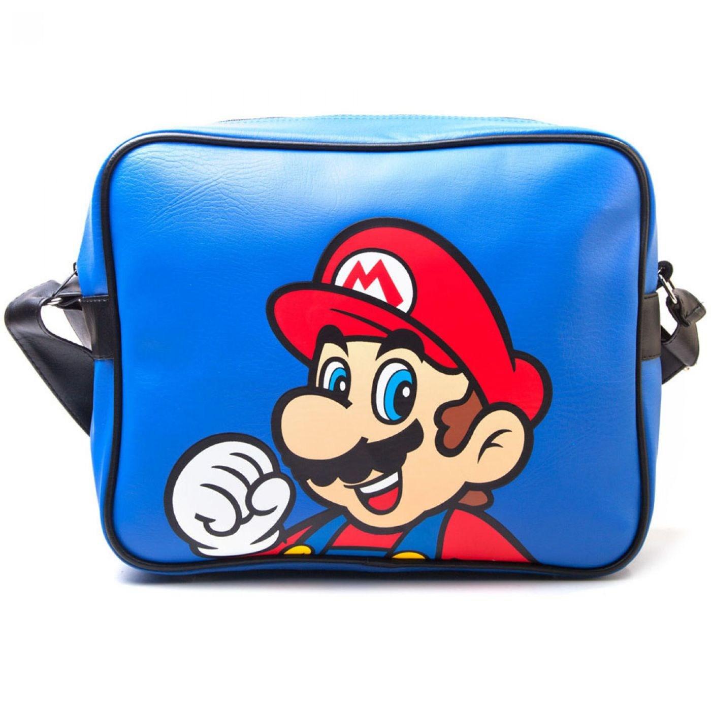 Nintendo Super Mario Bros airline messenger bag - Mario bag
