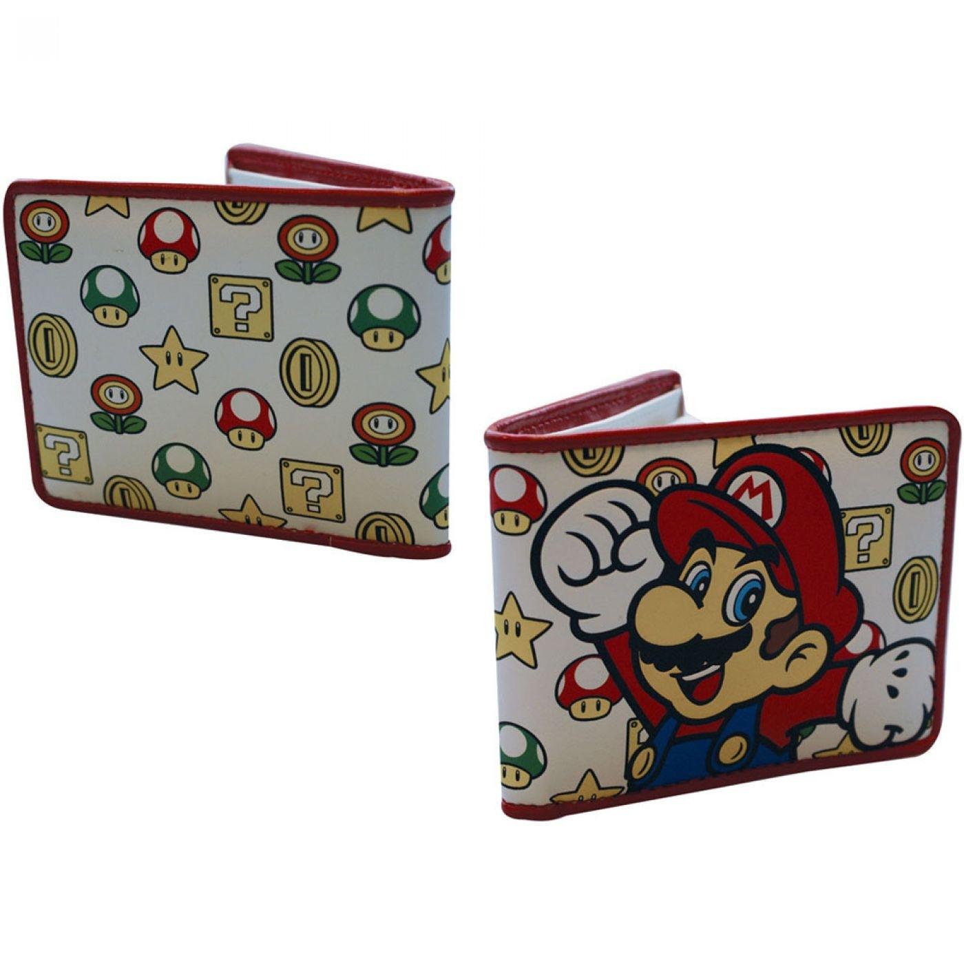 Nintendo Super Mario Bros Mario wallet