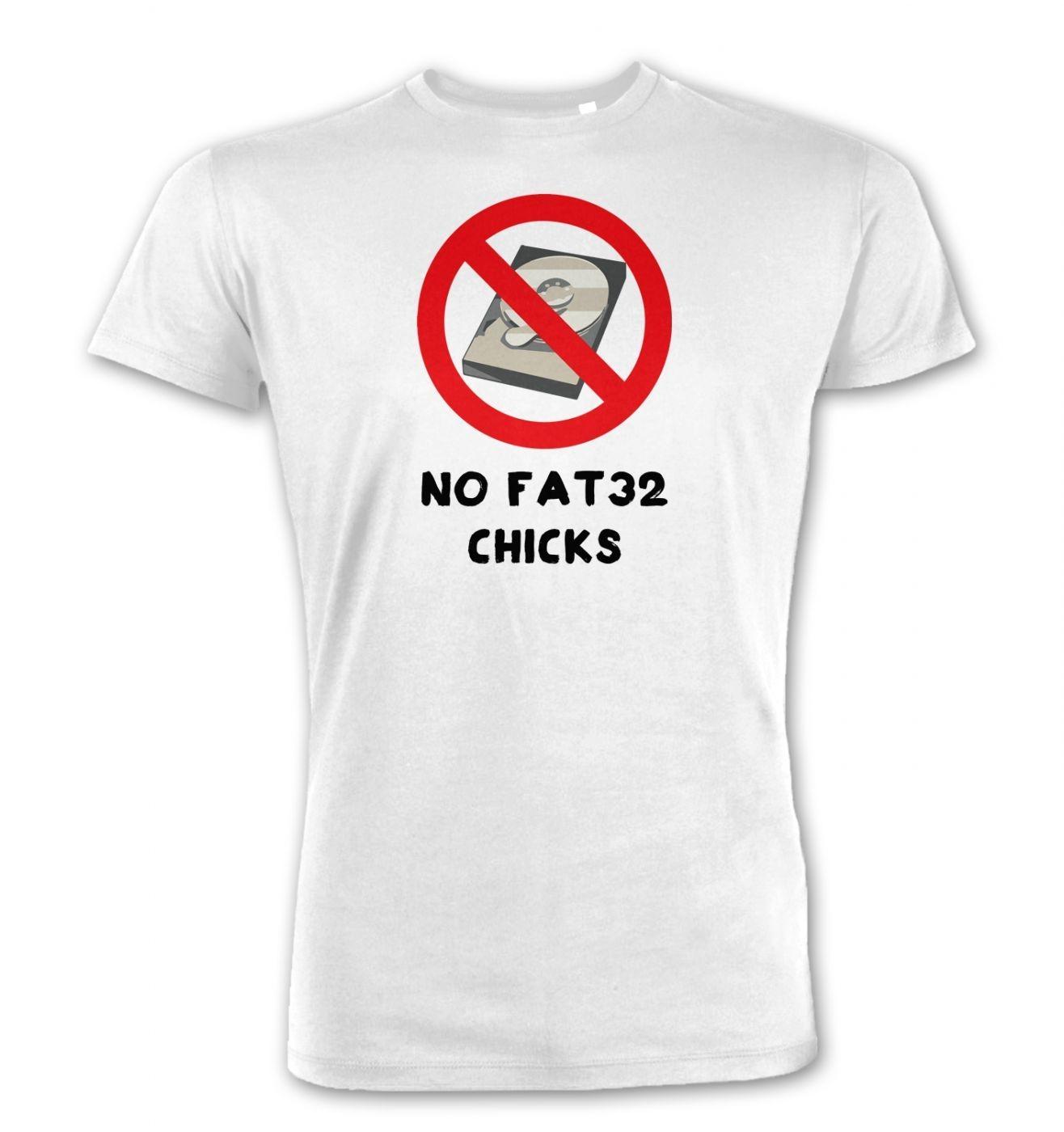No FAT32 Chicks Premium t-shirt