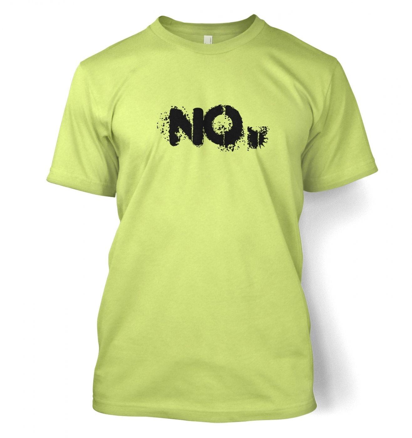 NO Men's T-shirt