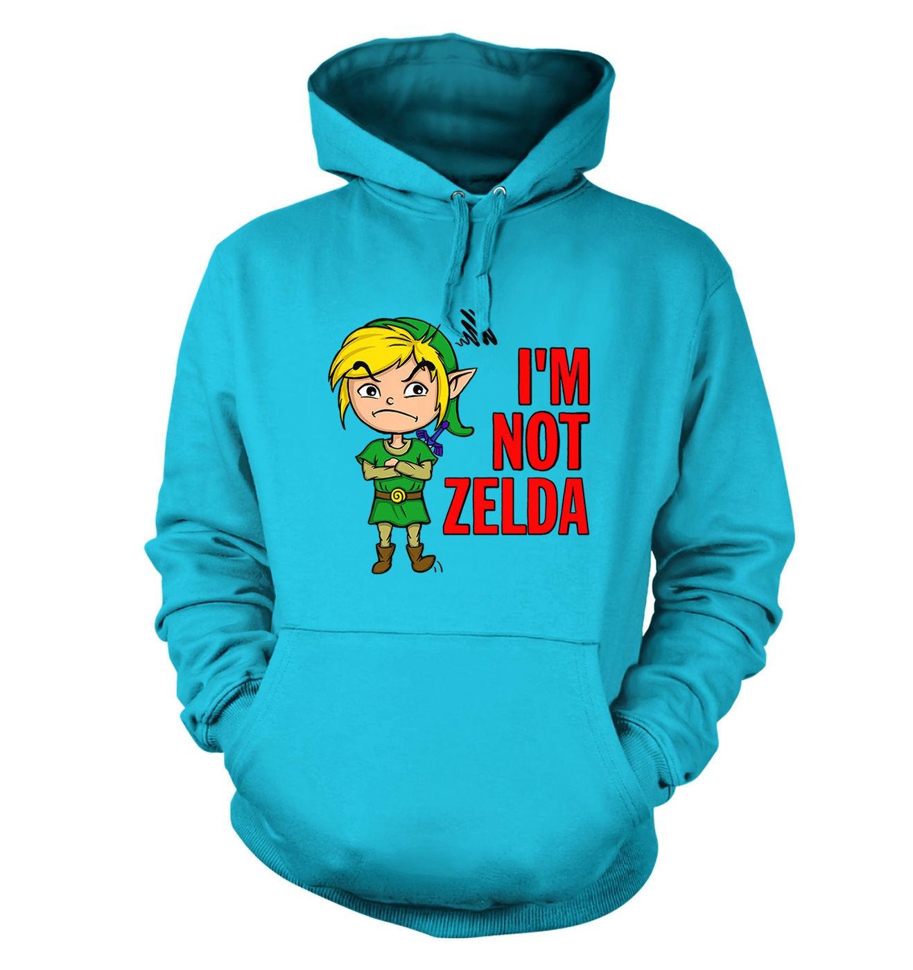 Not Zelda hoodie by Something Geeky