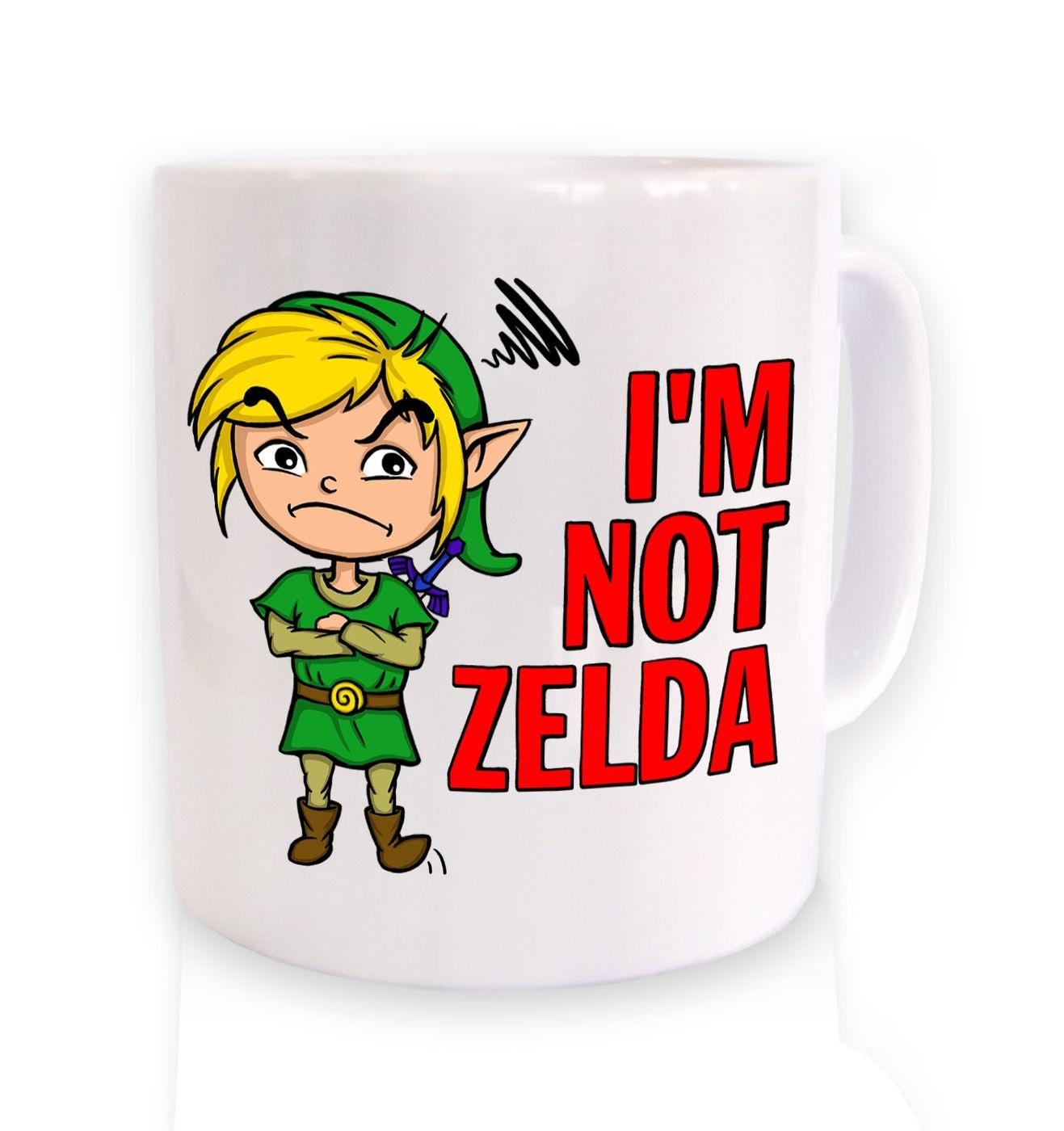 Not Zelda mug by Something Geeky