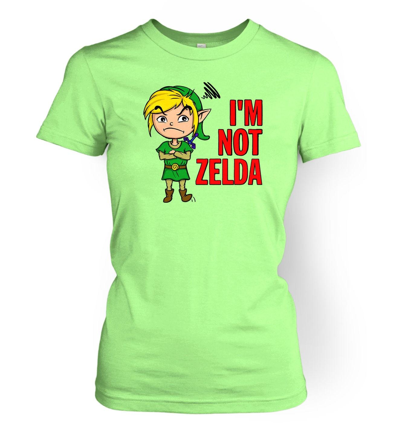 Not Zelda women's t-shirt by Something Geeky