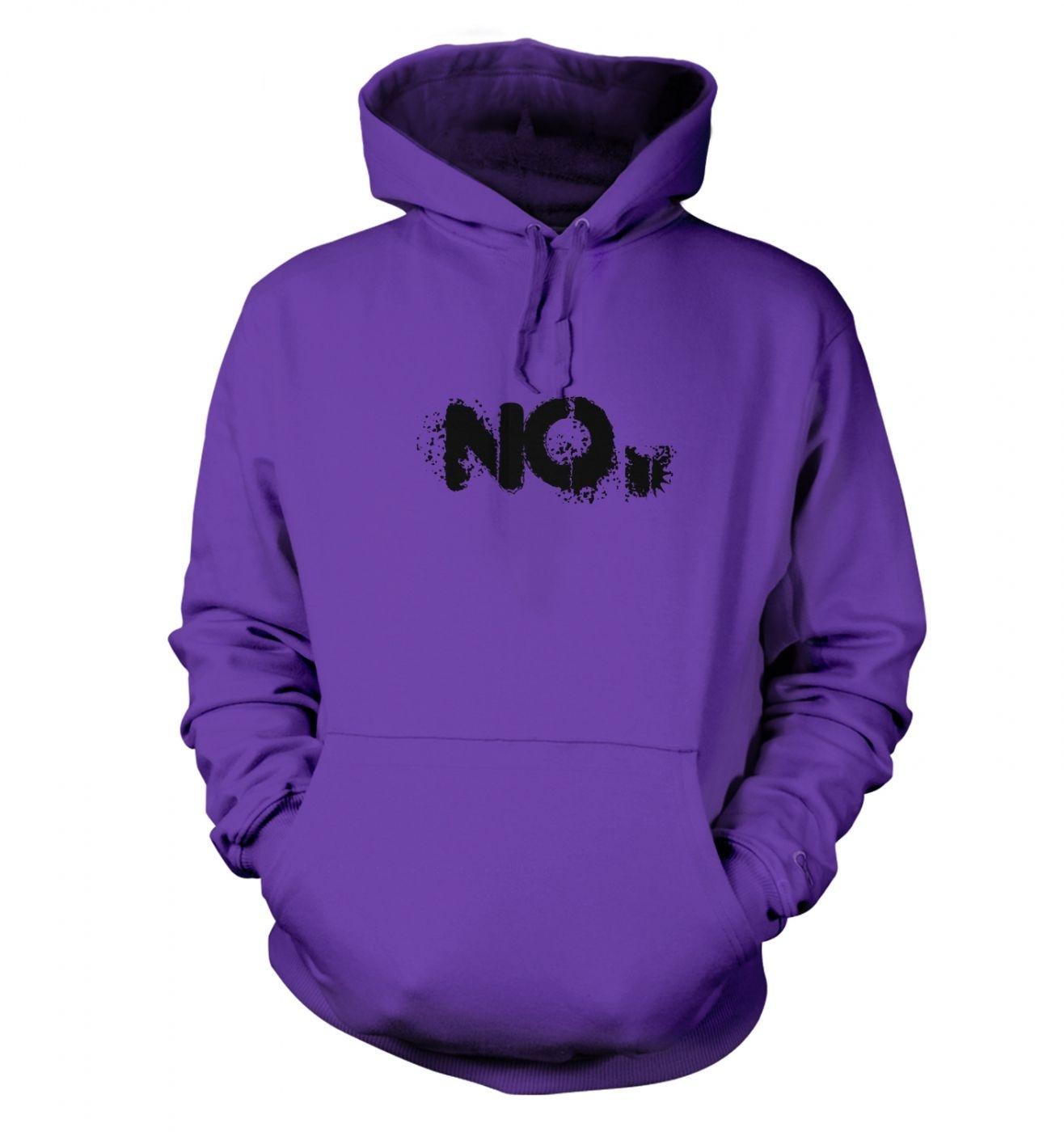 NO Unisex college hoodie