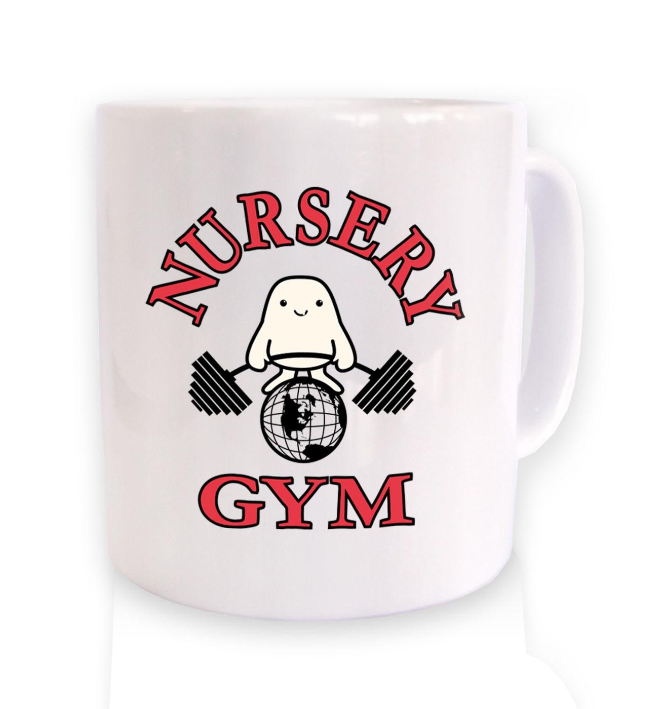 Nursery Gym mug by Something Geeky
