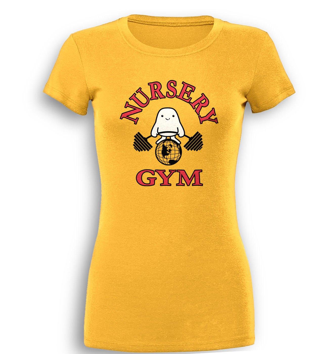 Nursery Gym premium womens t-shirt by Something Geeky