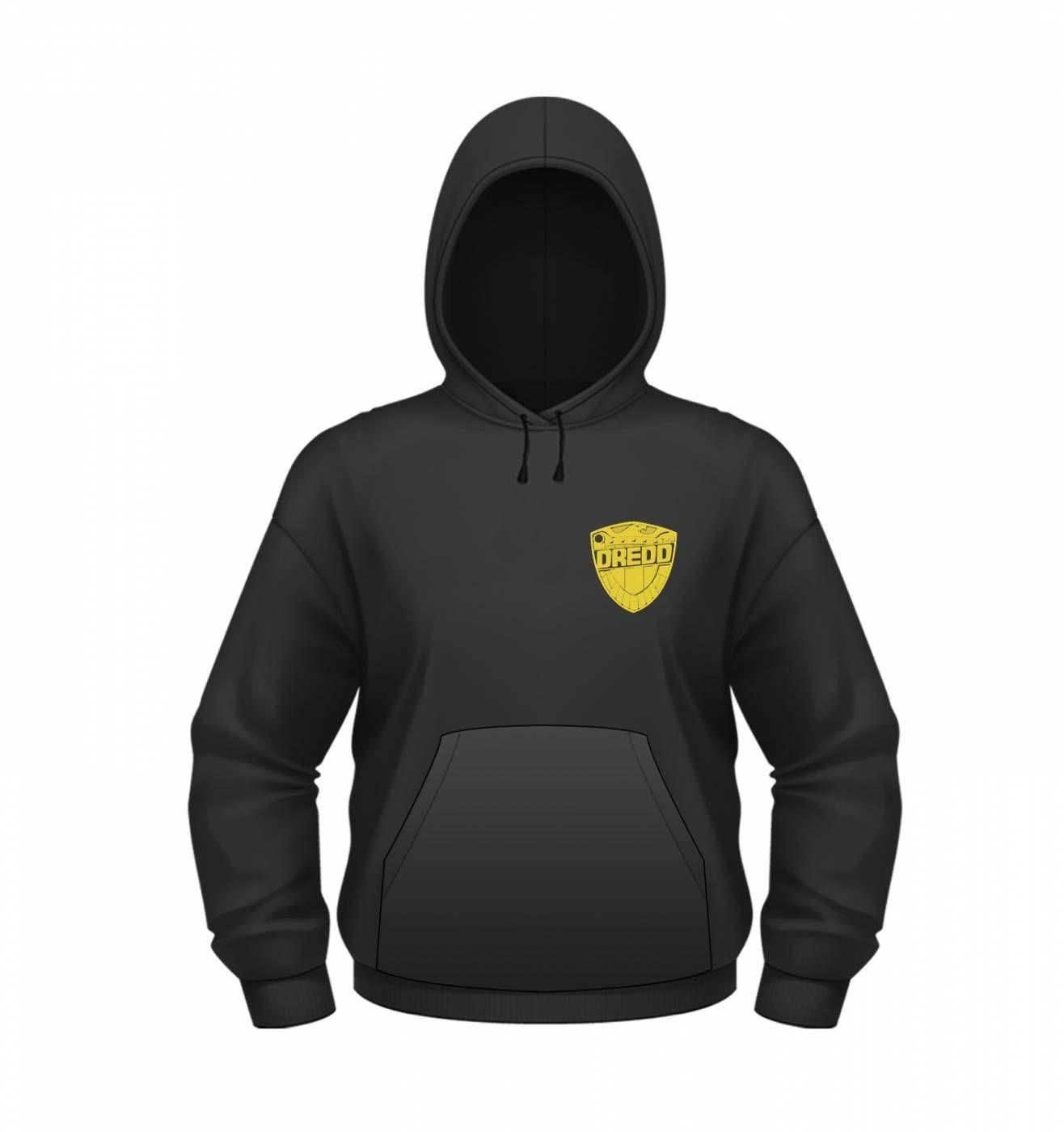 OFFICIAL 2000AD Judge Dredd Emo Kids hoodie