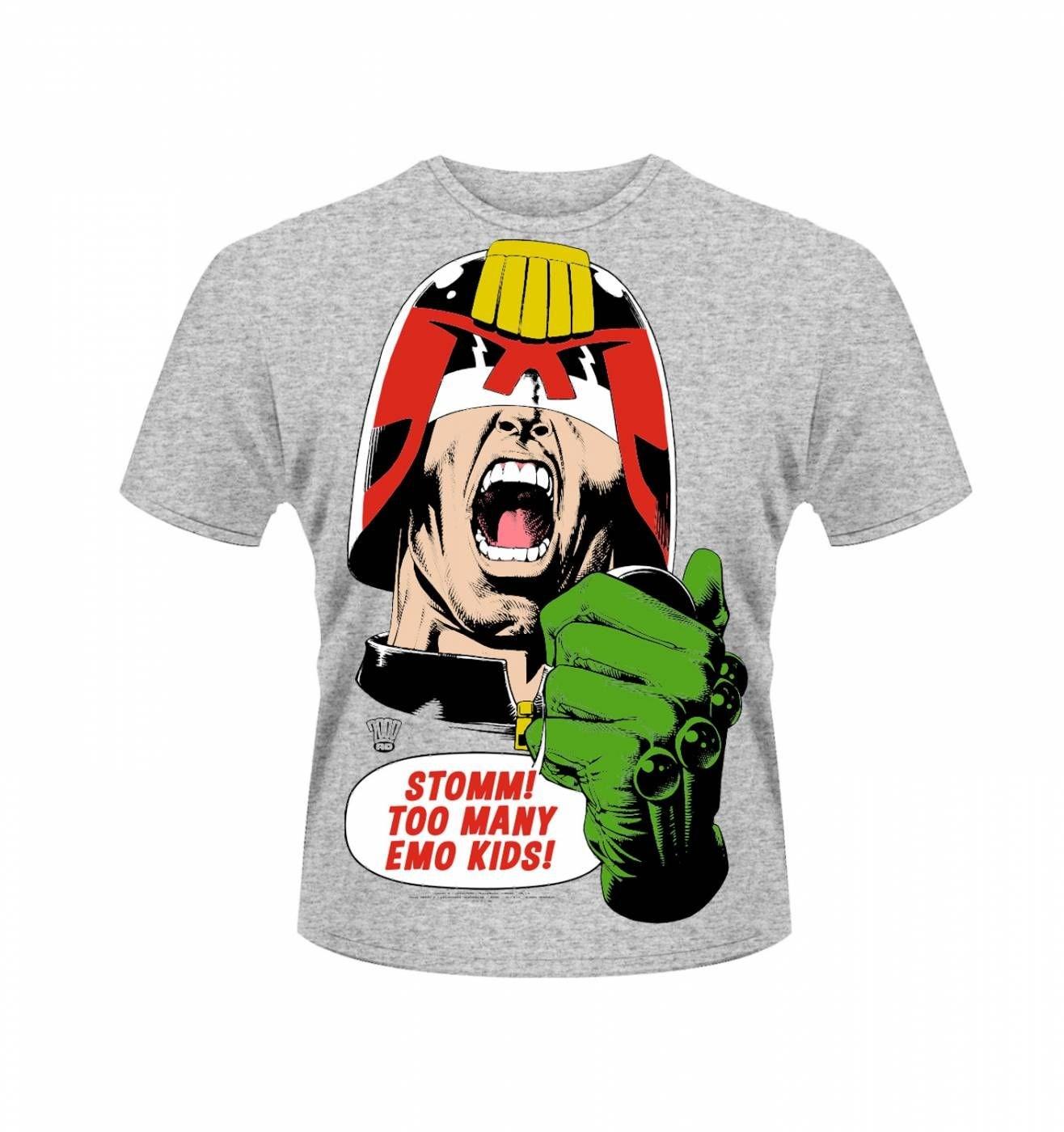 OFFICIAL 2000AD Judge Dredd Emo Kids t-shirt