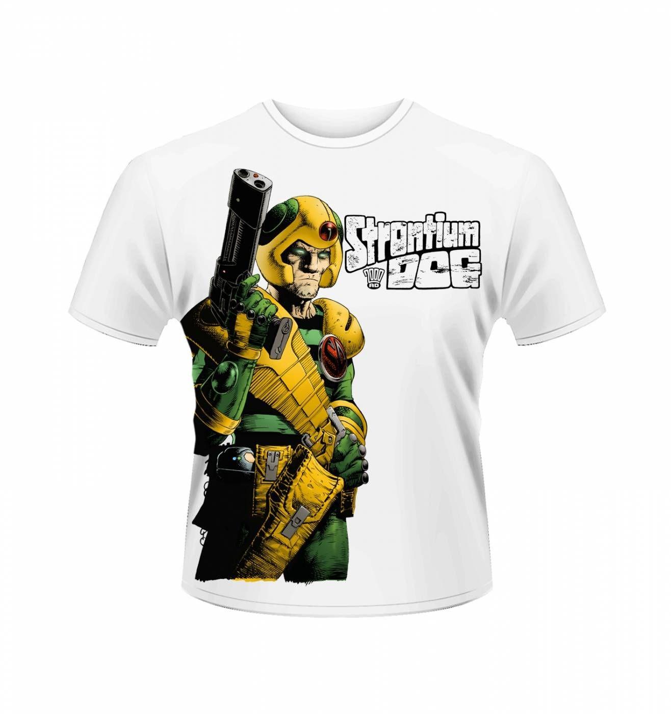 OFFICIAL 2000AD Strontium Dog Gun t-shirt