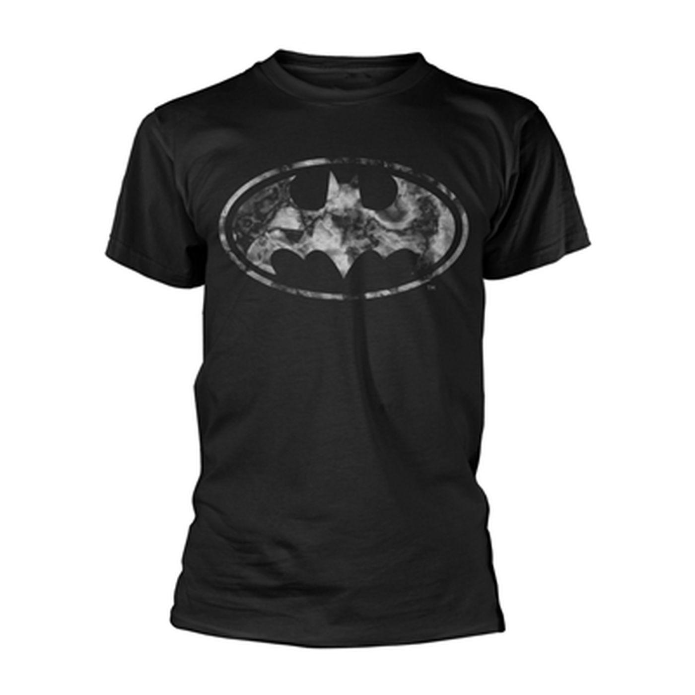 OFFICIAL DC Marble Batman Logo t-shirt