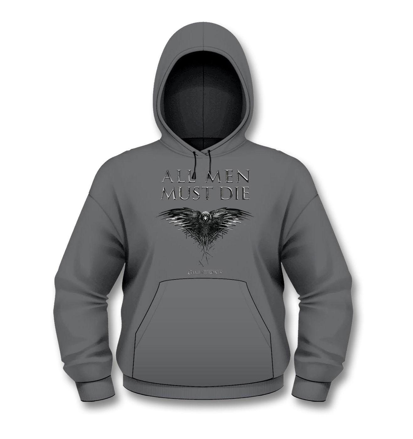 Official Game Of Thrones All Men Must Die hoodie