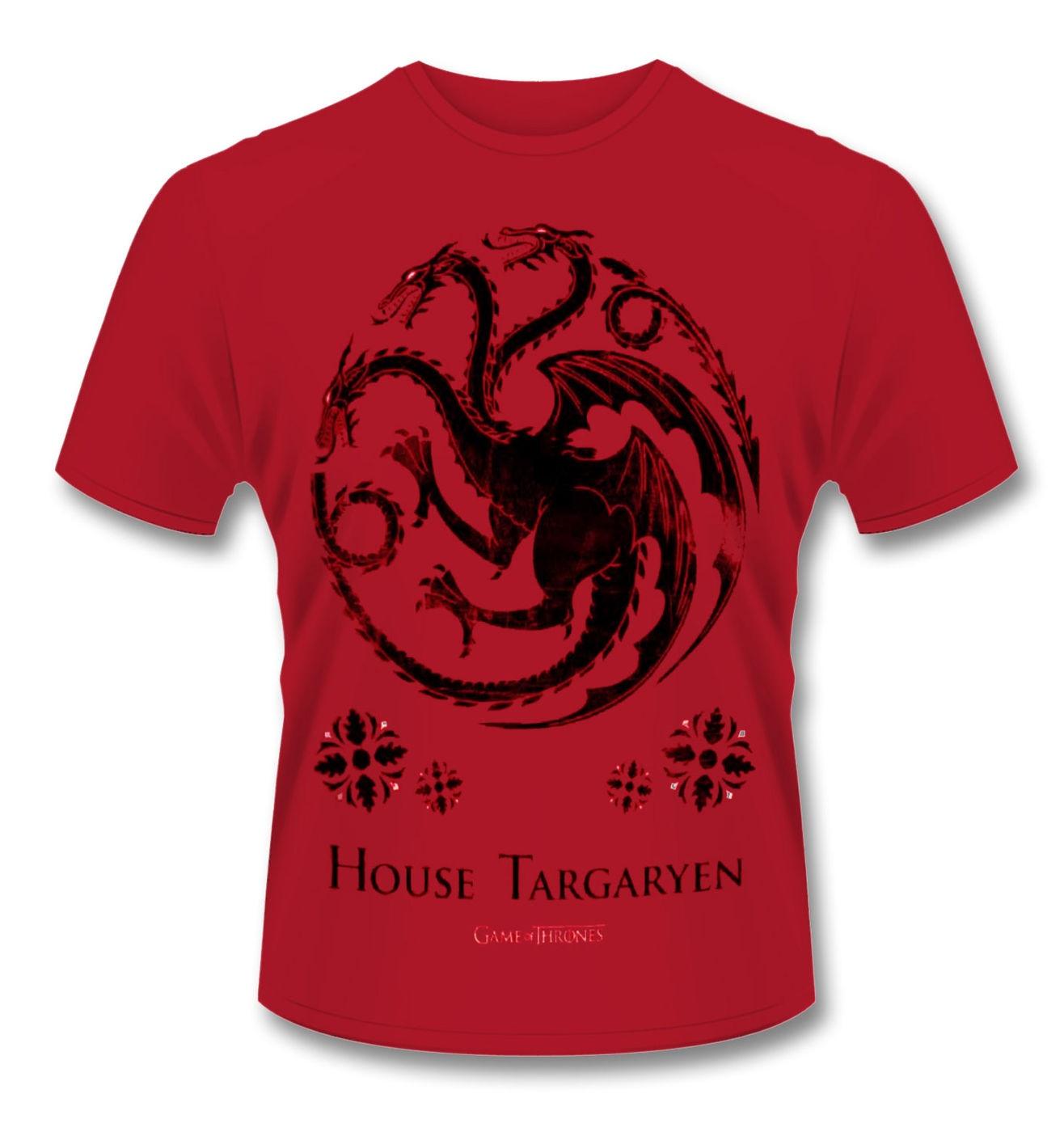 Official Game Of Thrones House Targaryen t-shirt
