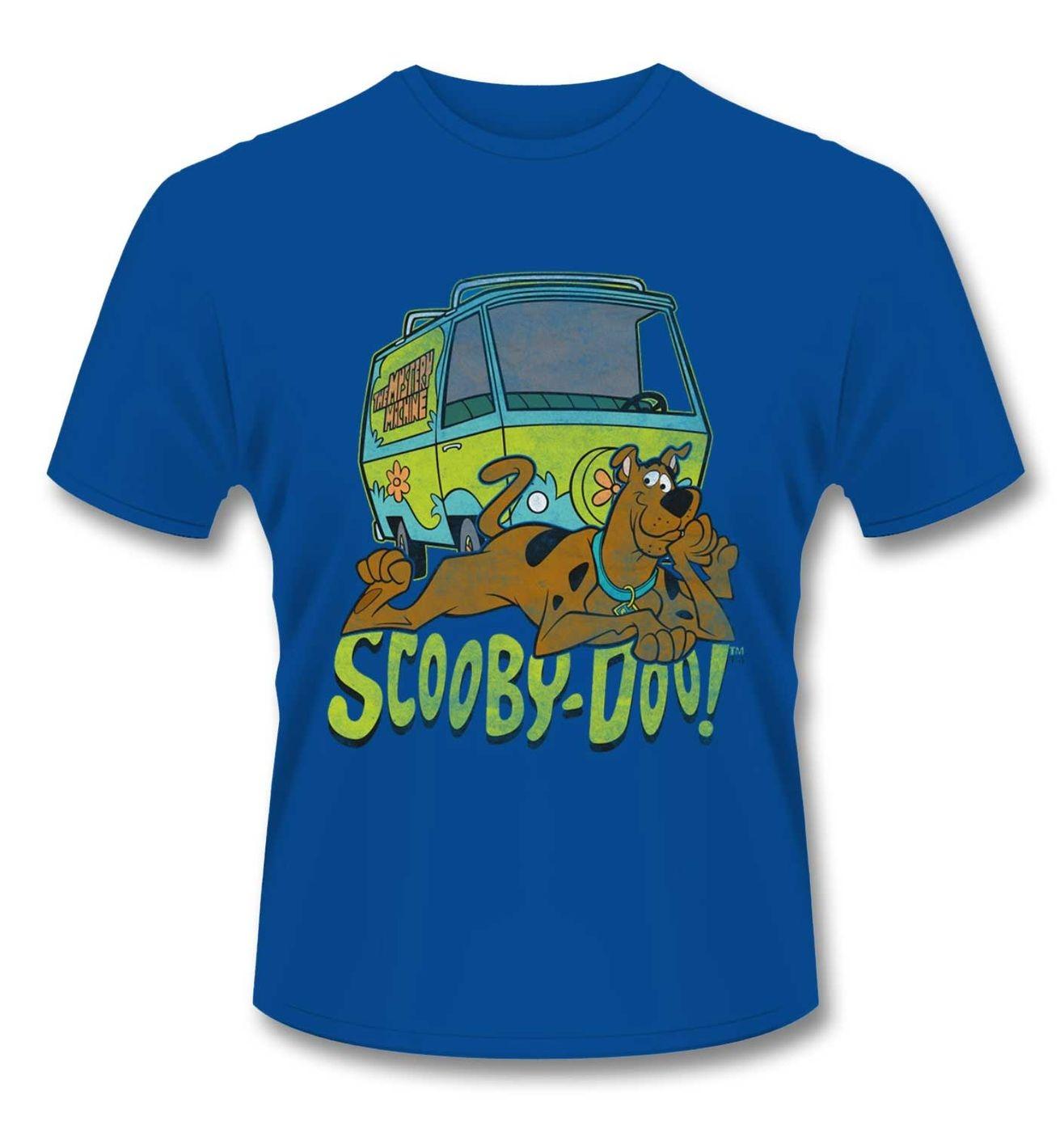 Official Hanna Barbera Scooby Doo Mystery Machine t-shirt