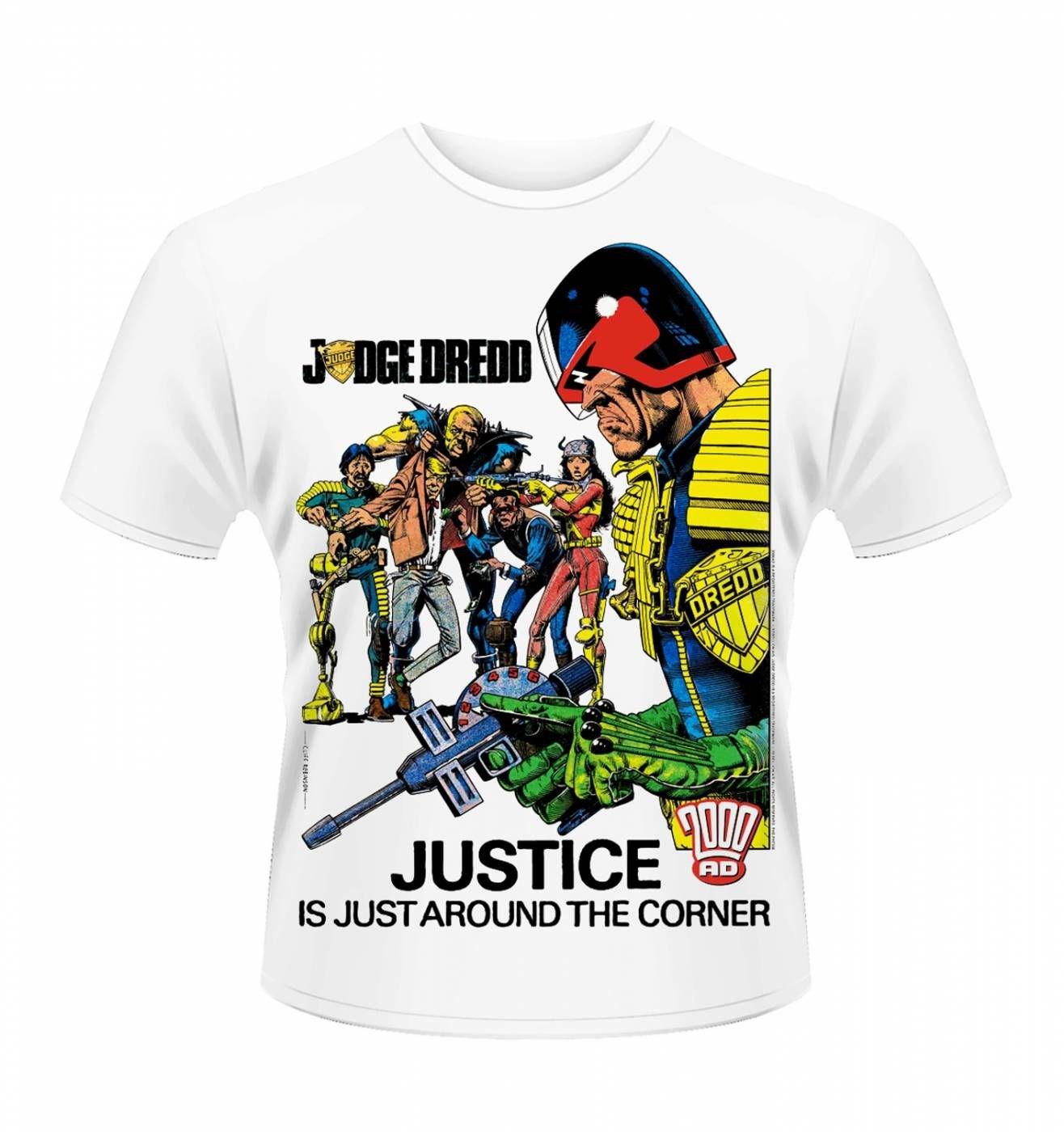 OFFICIAL Judge Dredd justice men's t-shirt