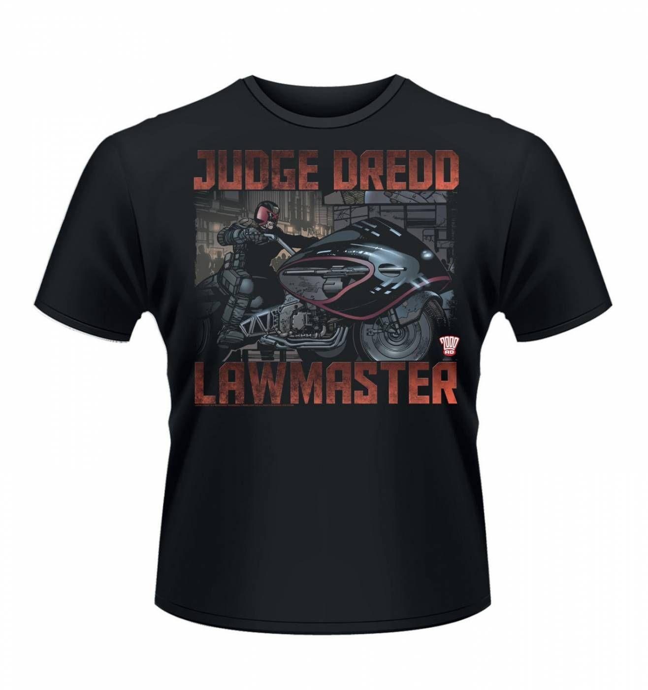 OFFICIAL Judge Dredd Lawmaster men's t-shirt