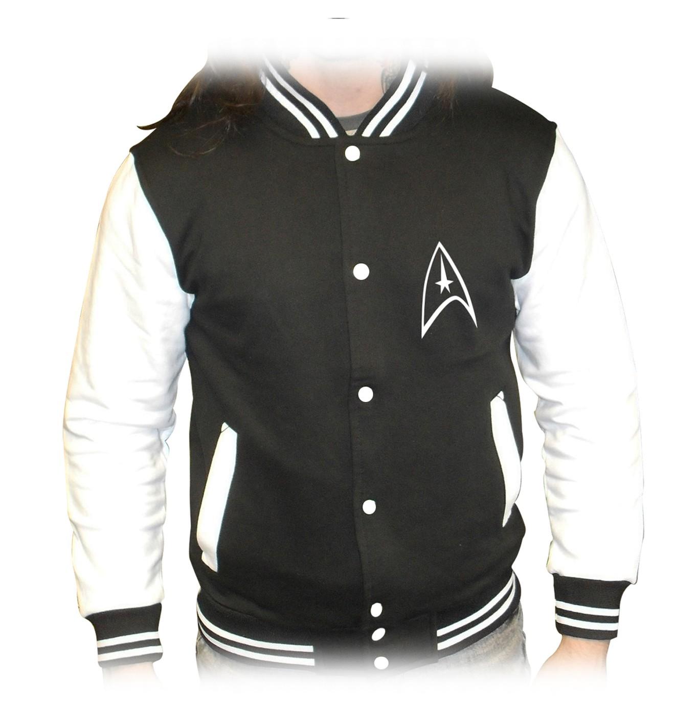OFFICIAL Star Trek Badge varsity jacket
