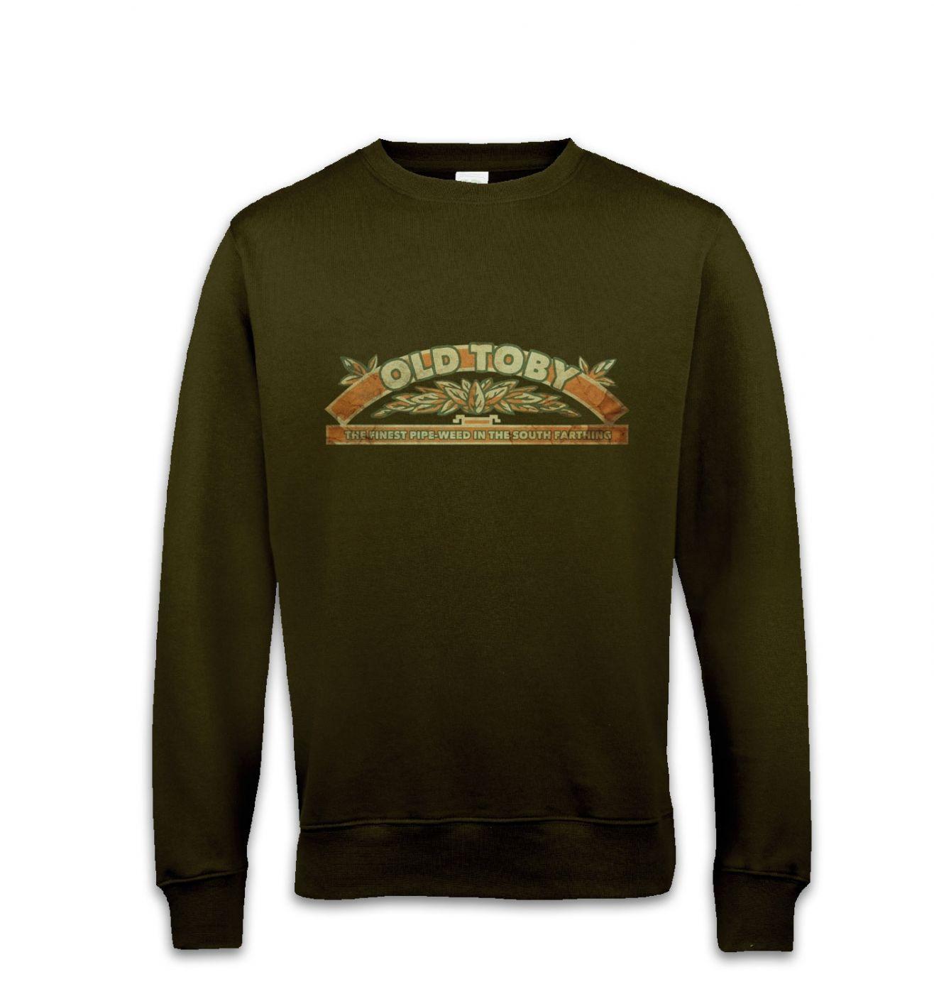 Old Toby Pipe Weed sweatshirt