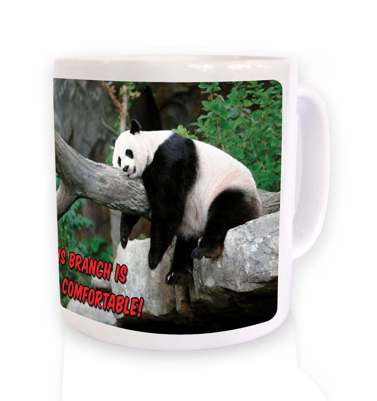 OMG Comfortable Branch Panda mug