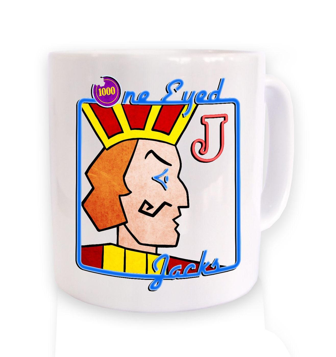 One Eyed Jacks mug by Something Geeky