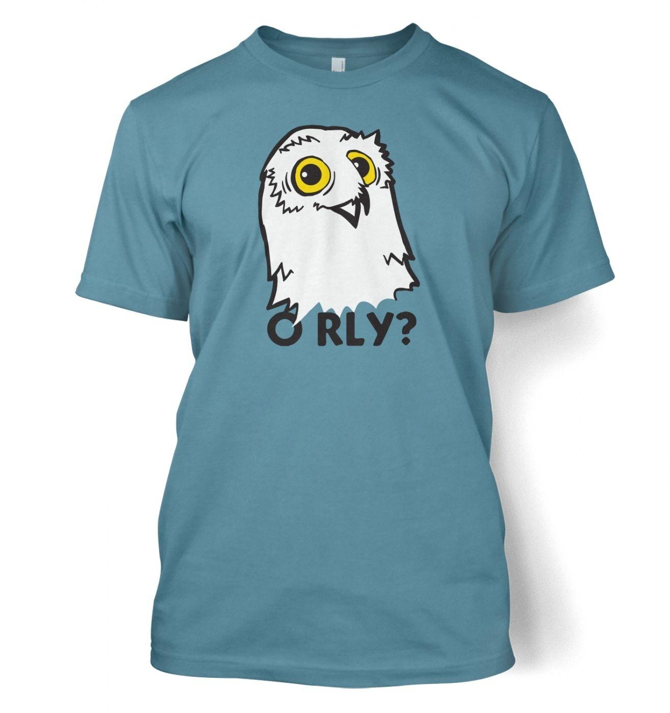 O RLY? Owl t-shirt