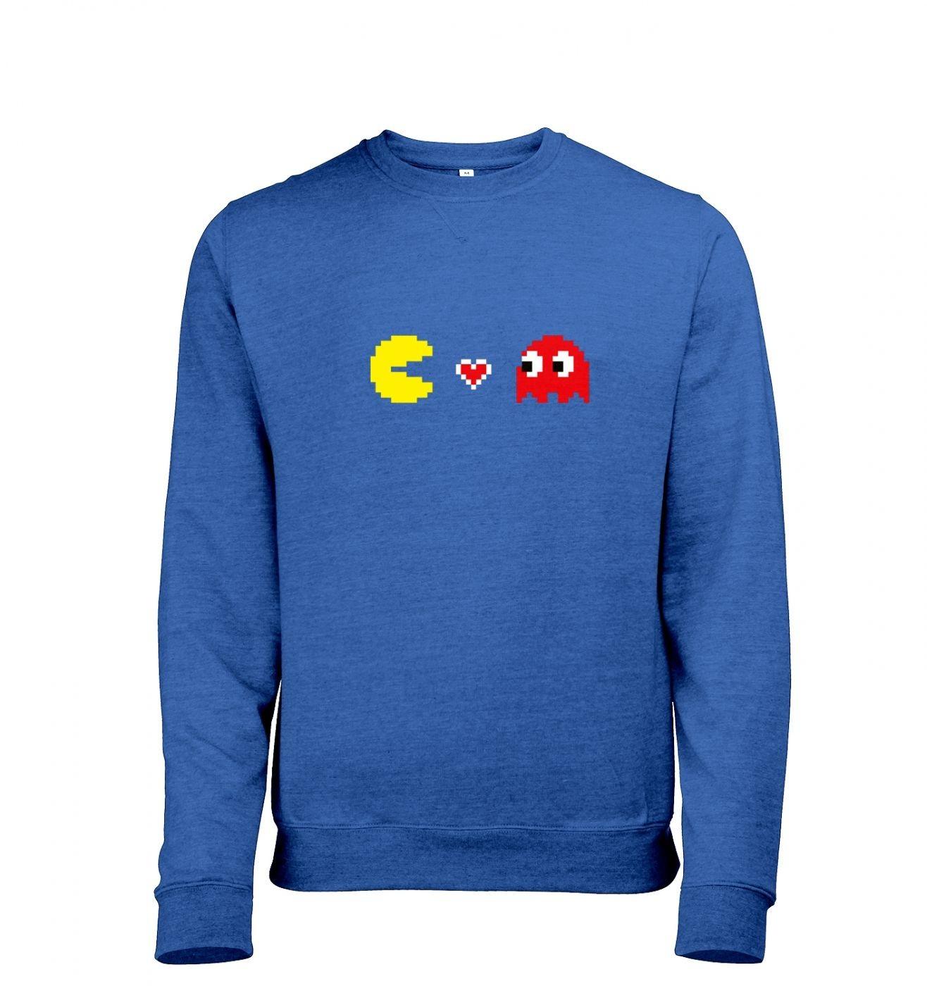 Squid Love Cheese men's heather sweatshirt