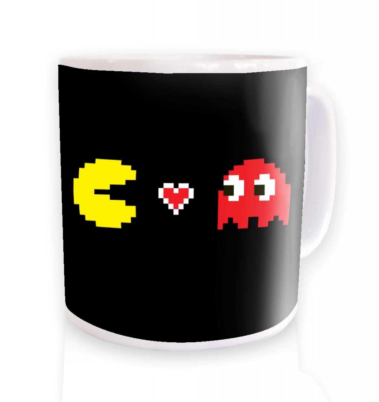 Squid Love Cheese ceramic coffee mug