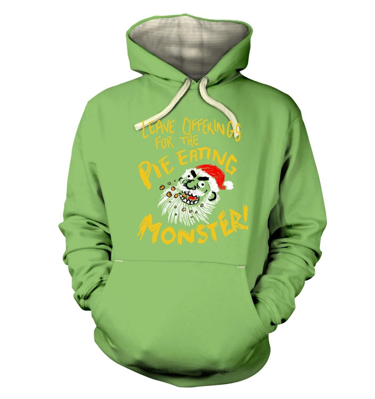 Pie Monster Premium Hoodie