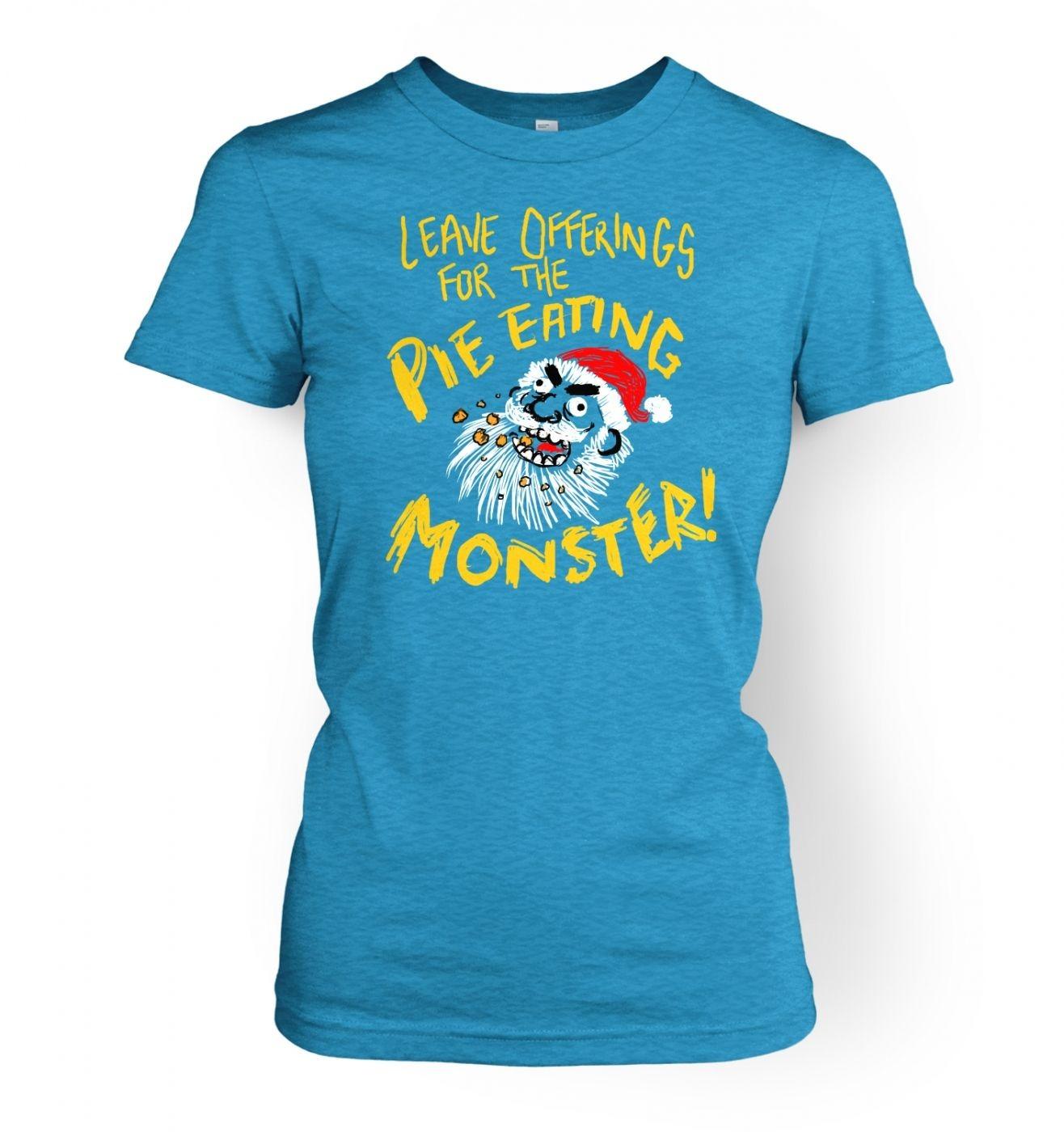 Pie Monster Women's T-Shirt