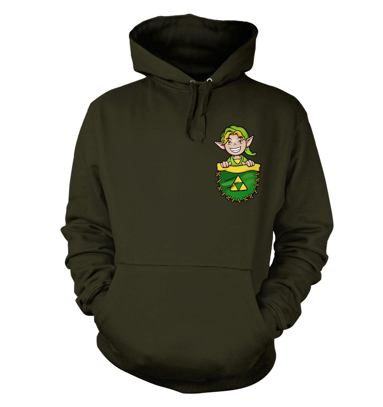 Pocket Hyrule Warrior hoodie by Something Geeky