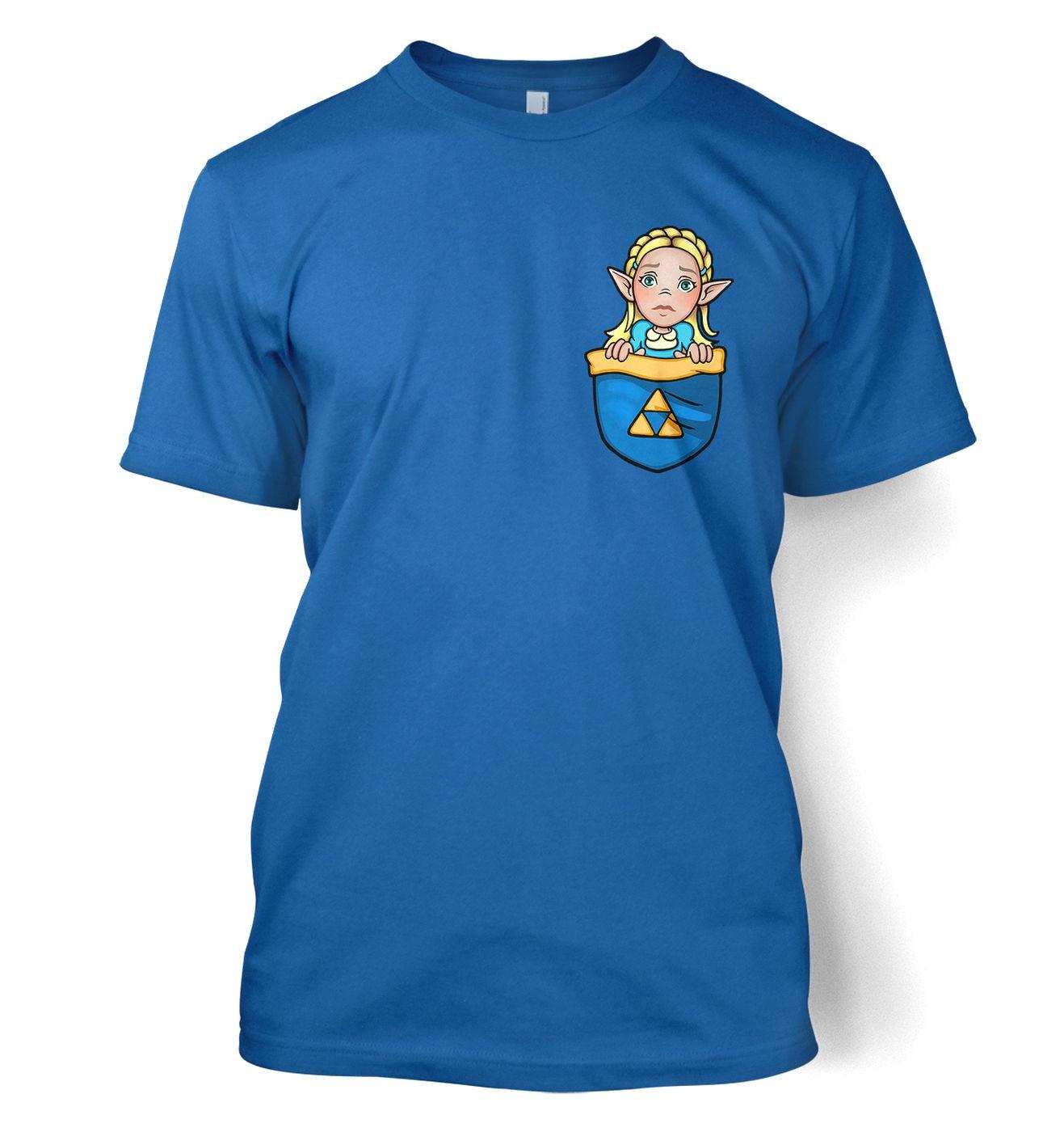 Pocket Zelda t-shirt by Something Geeky