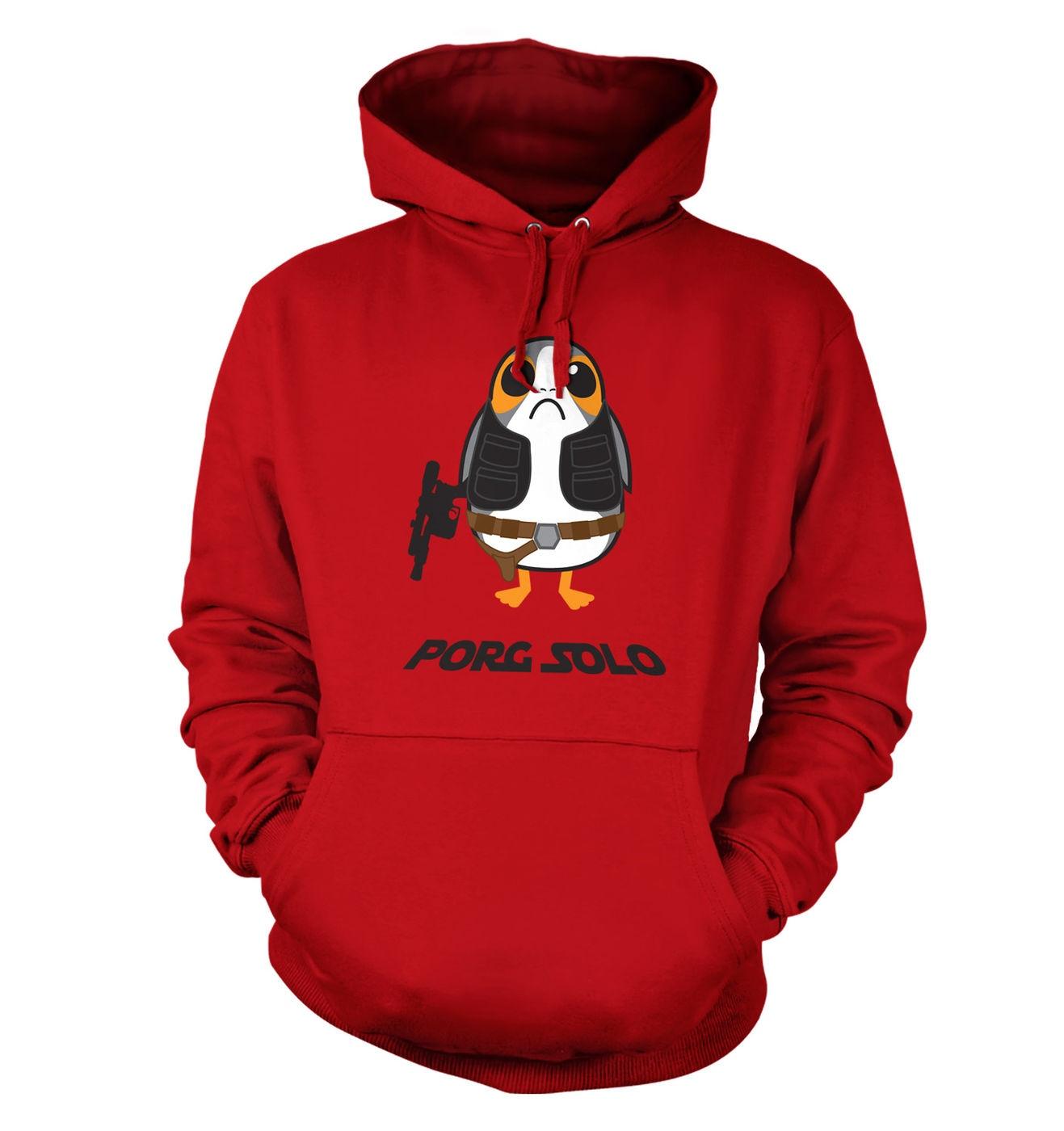 Porg Solo hoodie by Something Geeky