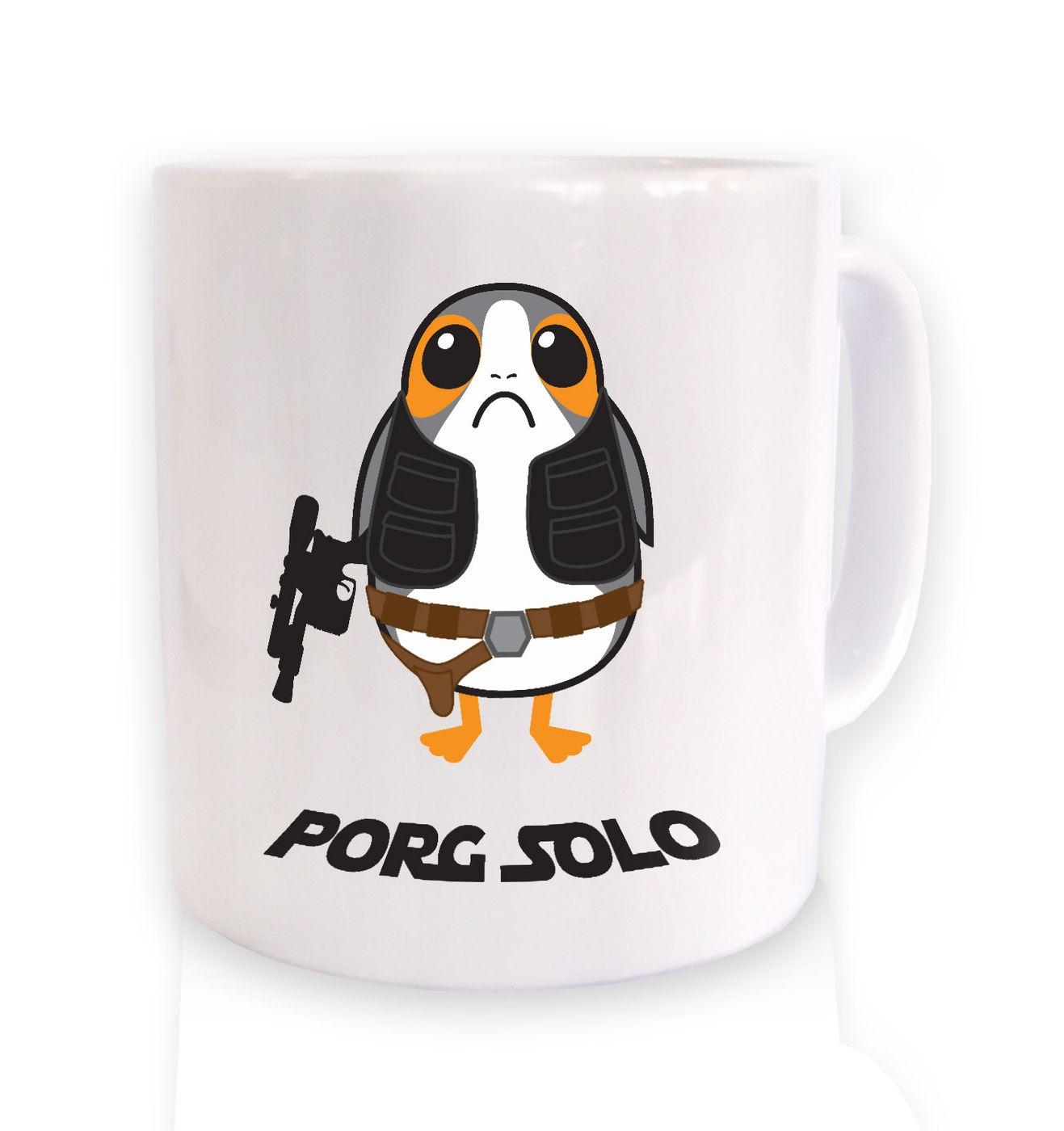 Porg Solo mug by Something Geeky