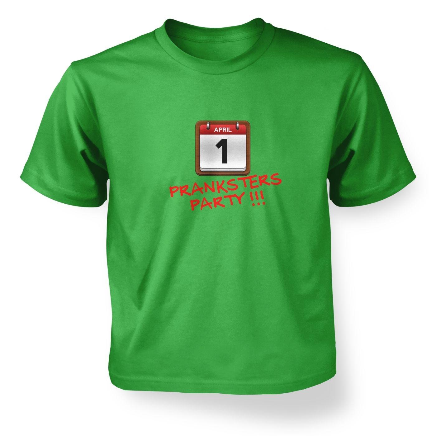 Prankster Party Kid's T-Shirt