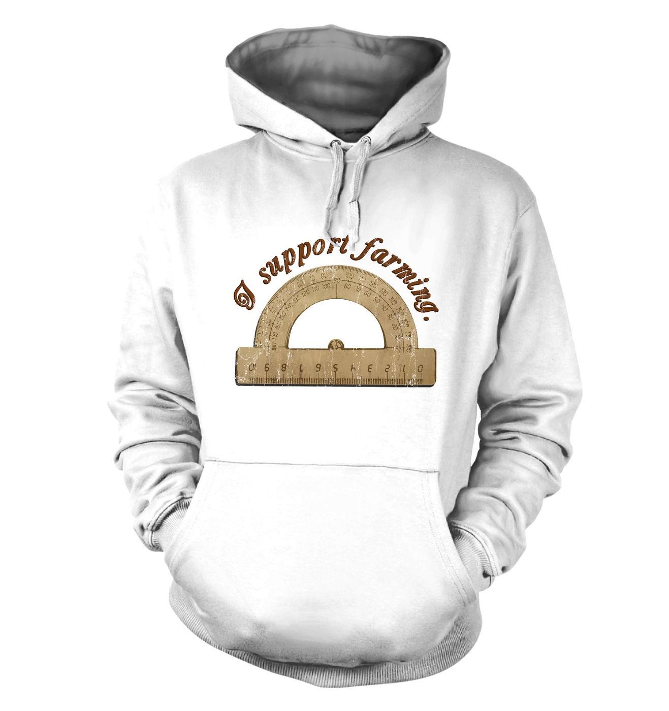 Pro-Tractor hoodie - puntastic geeky hoody