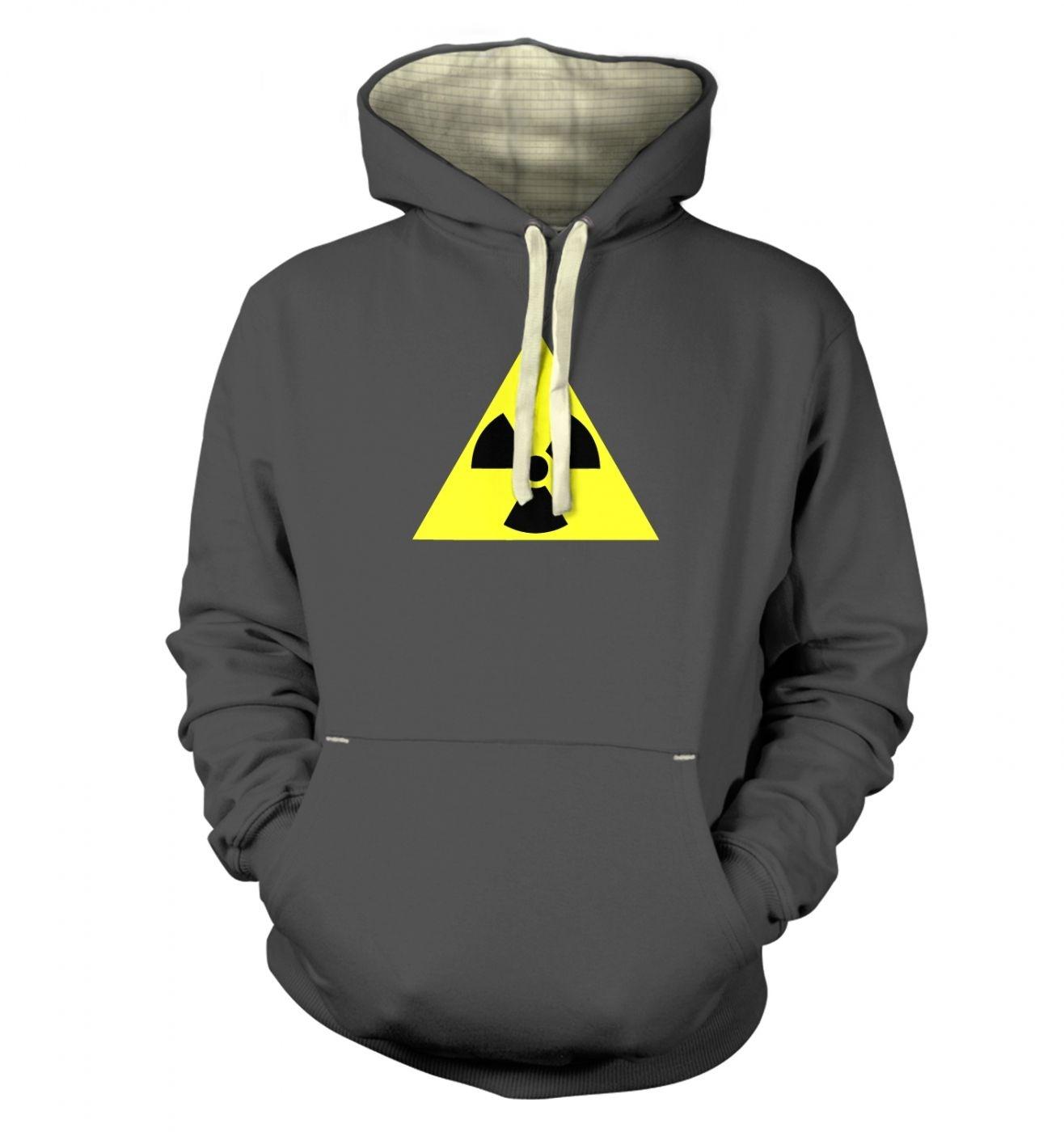 Radioactive Symbol premium hoodie