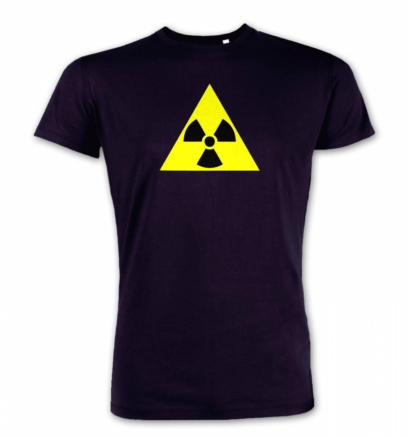 Radioactive symbol premium t shirt somethinggeeky radioactive symbol mens premium t shirt buycottarizona