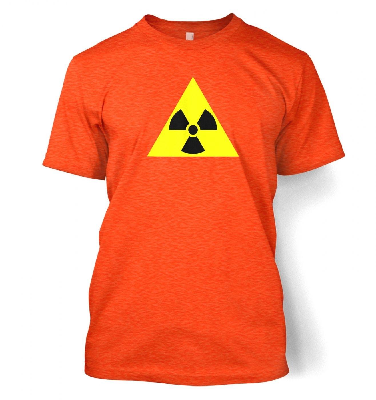 Radioactive Symbol men's t-shirt