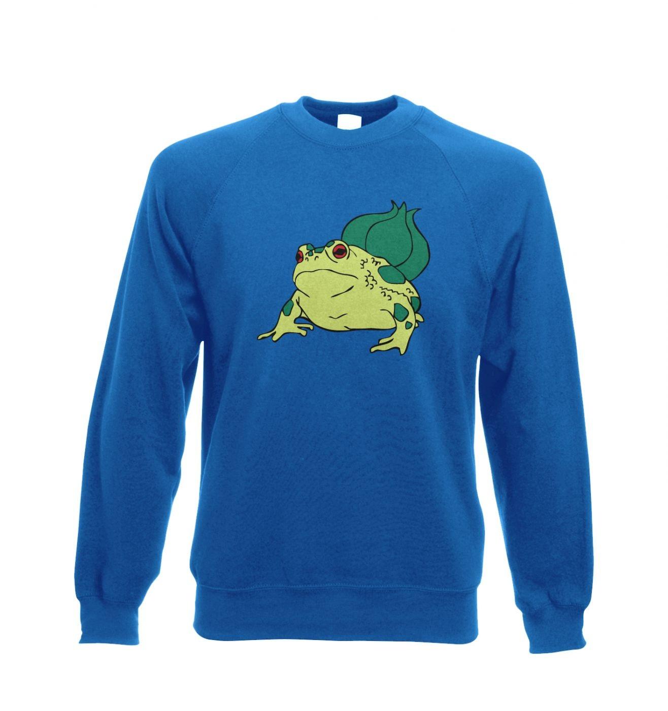 Real Life Bulbasaur Adult Crewneck Sweatshirt