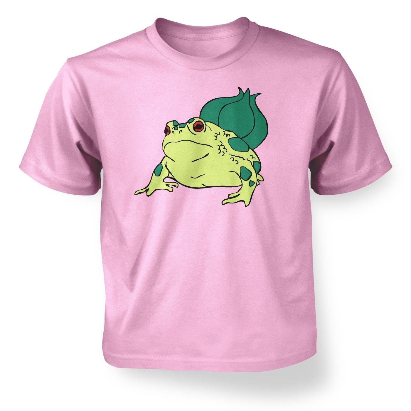 Kids' Real Life Bulbasaur T-Shirt - Inspired by Pokemon