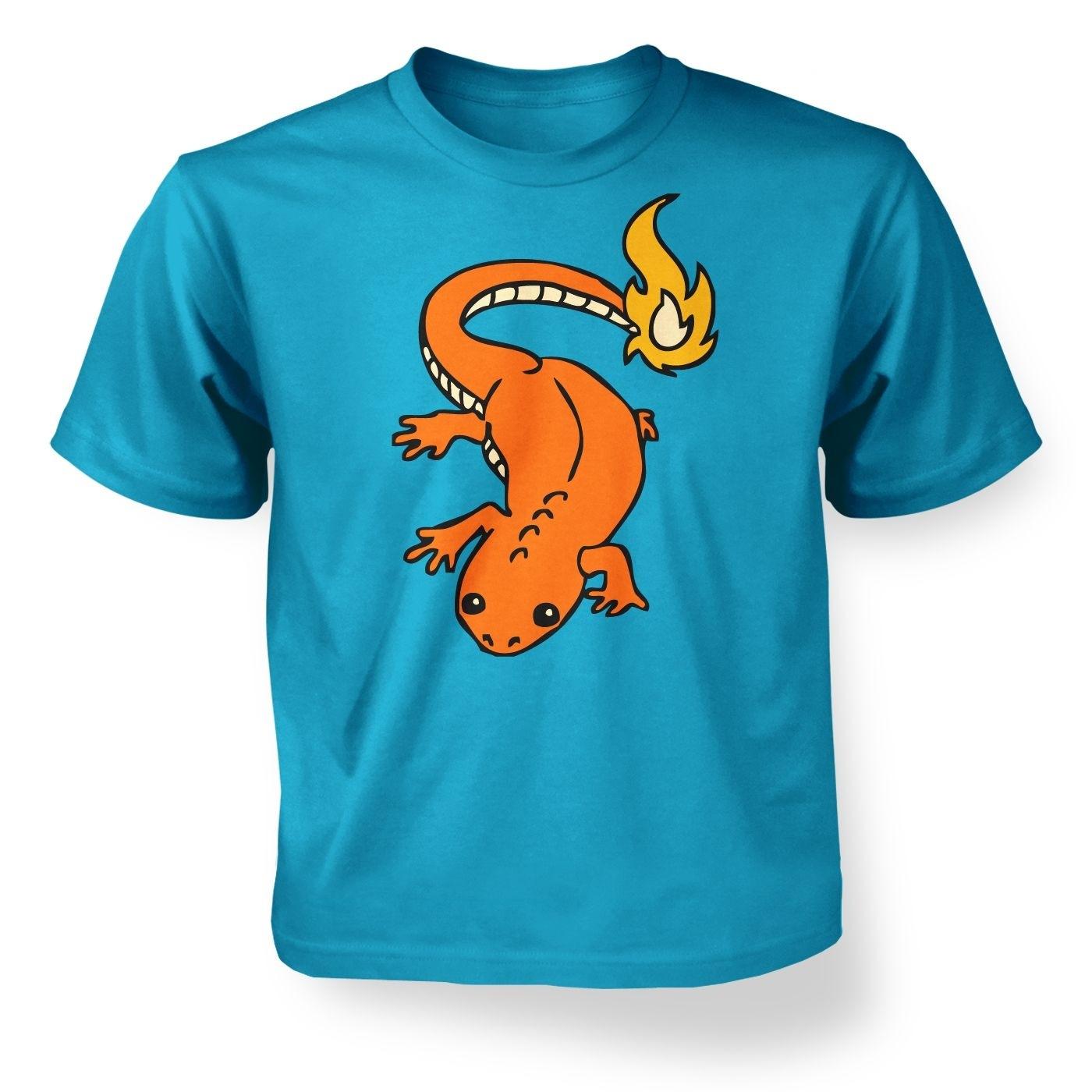 Kids' Real Life Charmander T-Shirt - Inspired by Pokemon