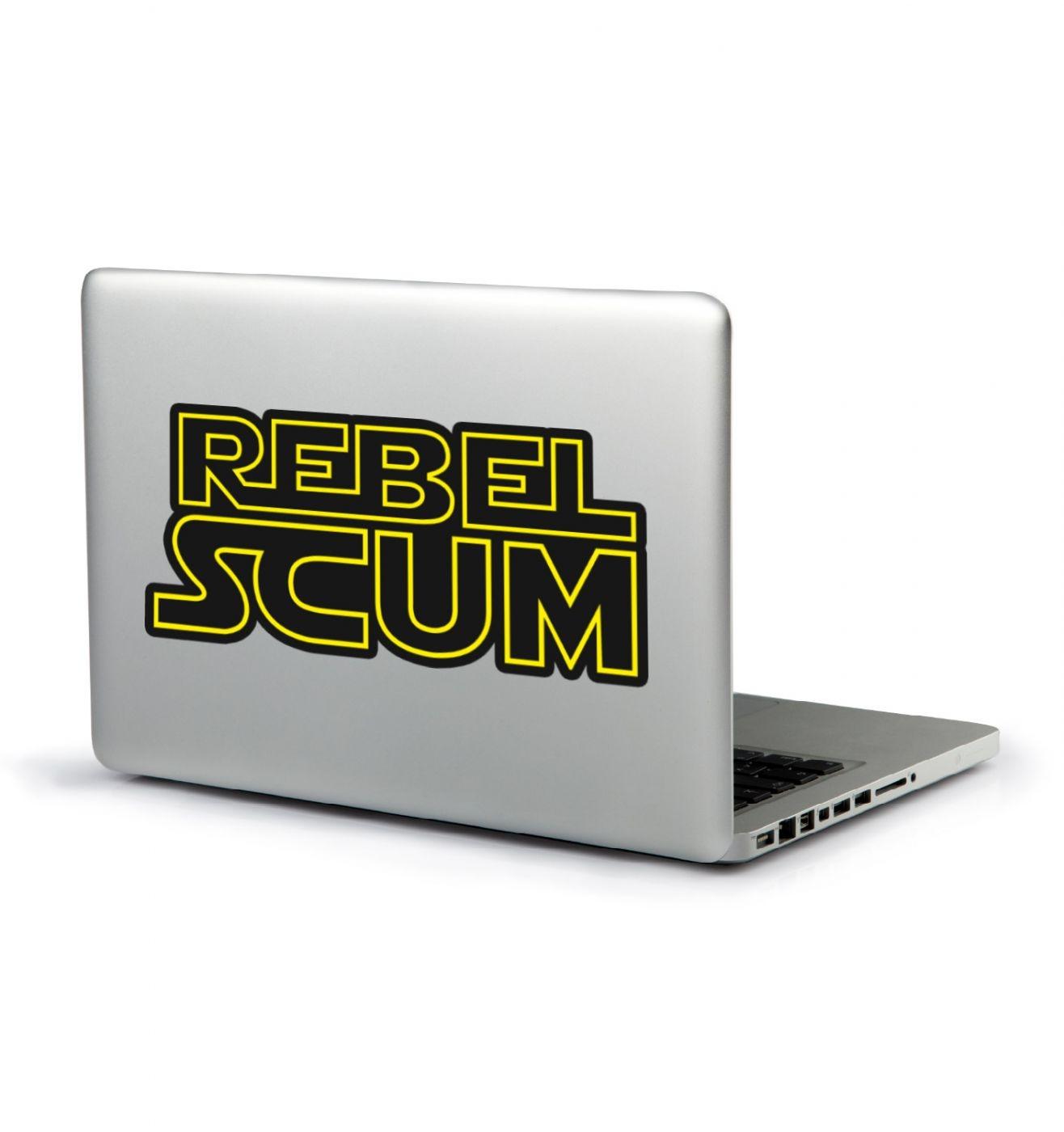 Rebel Scum laptop sticker