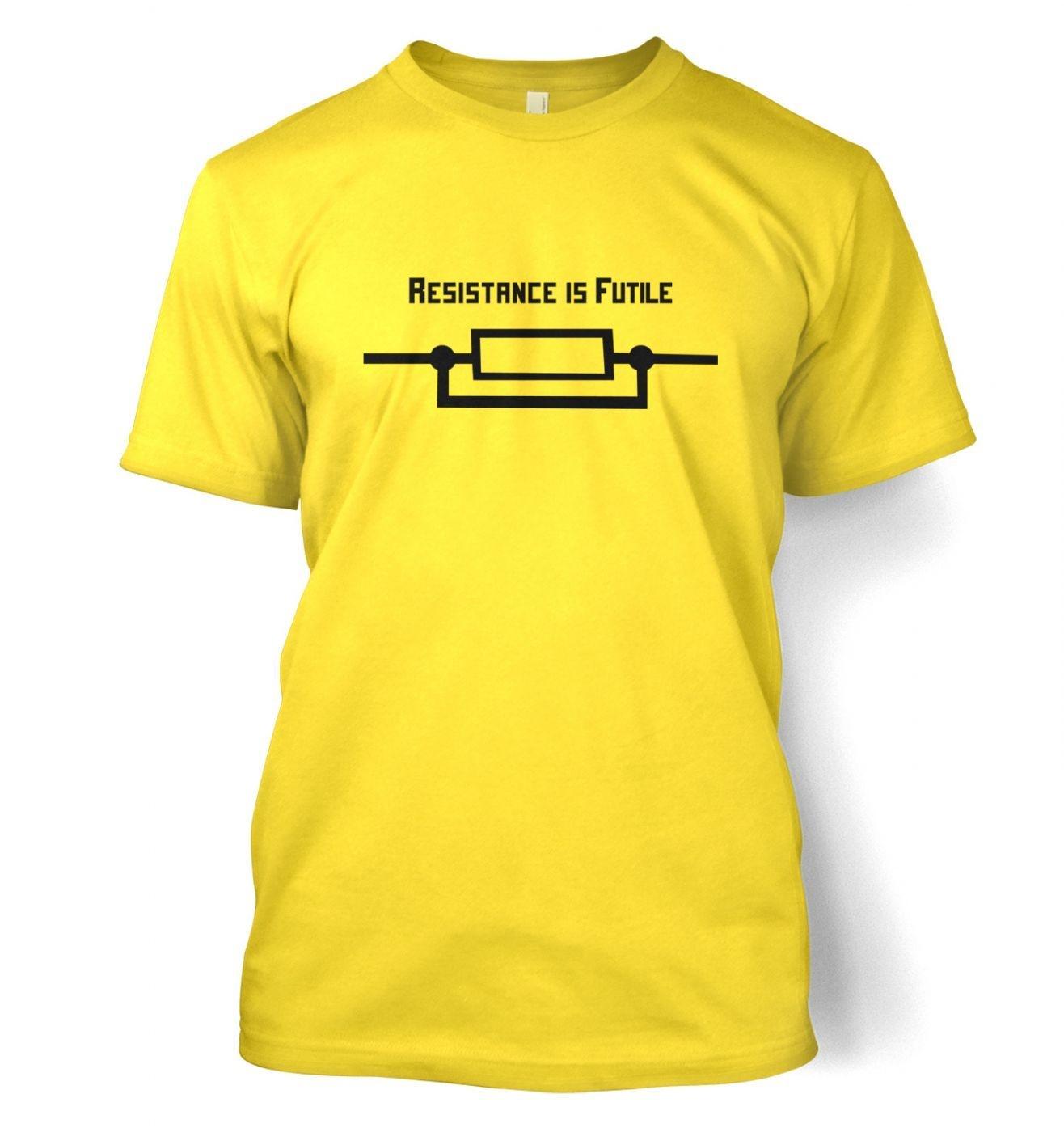 Resistance Is Futile (EU) men's t-shirt