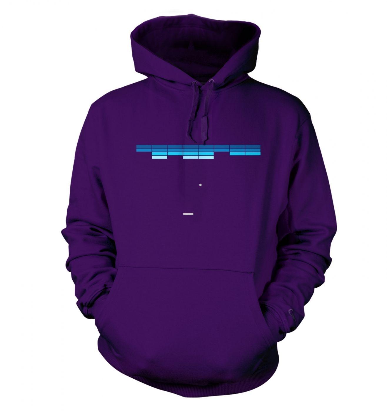 Retro Arcade Style (purple/blue) hoodie