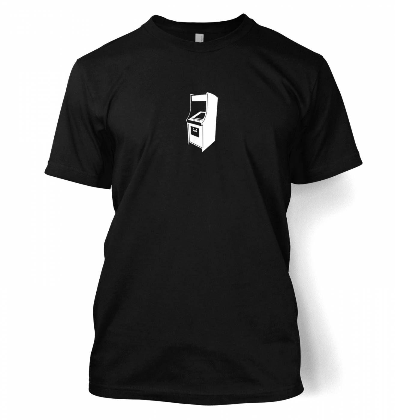 Retro Arcade Cabinet men's t-shirt