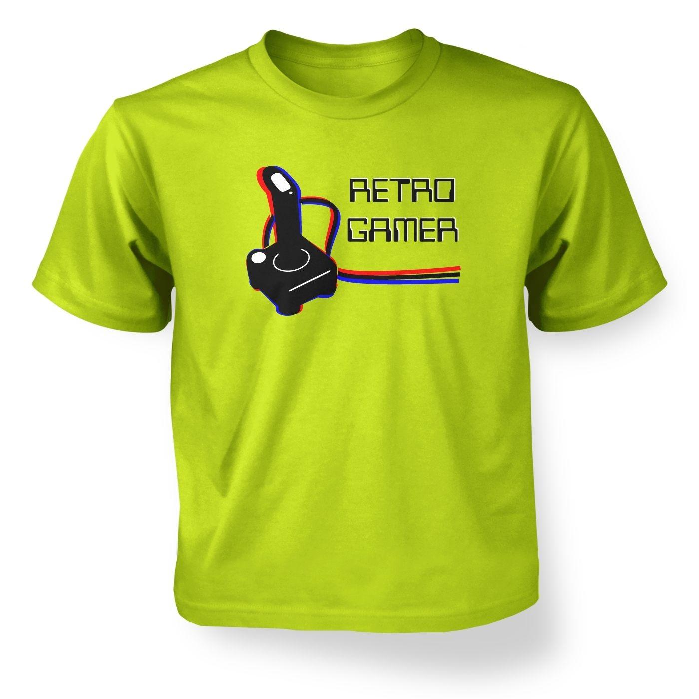 Retro Gamer kids' t-shirt