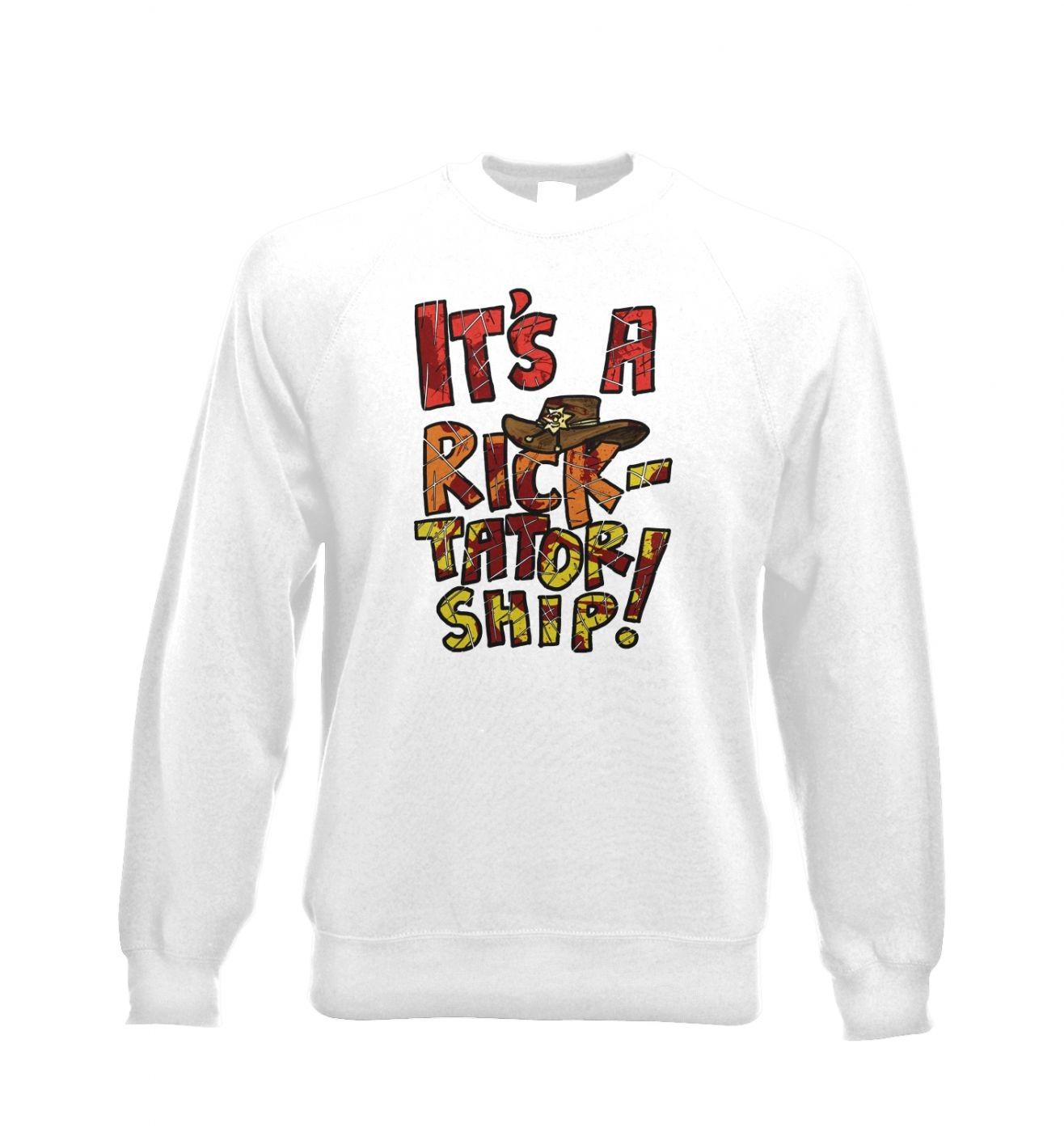 It's a Ricktatorship unisex crewneck sweatshirt