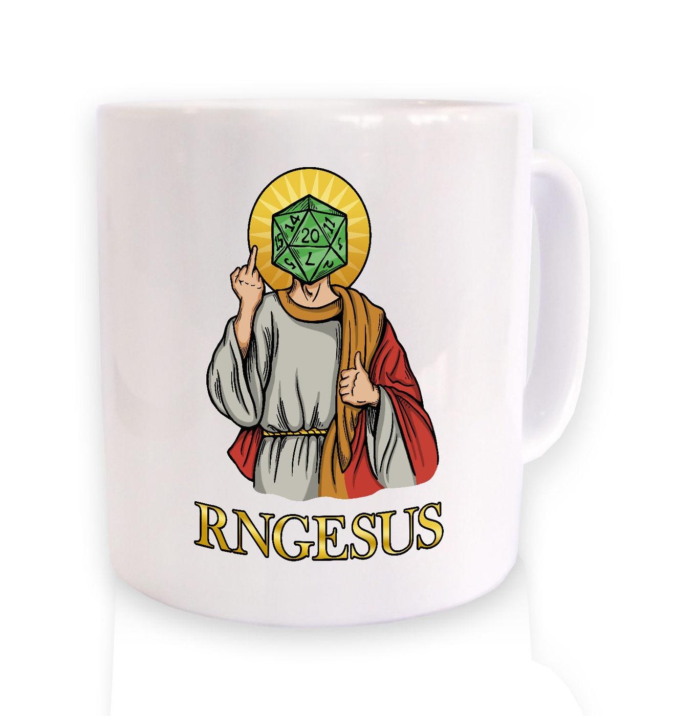 RNGesus mug by Something Geeky